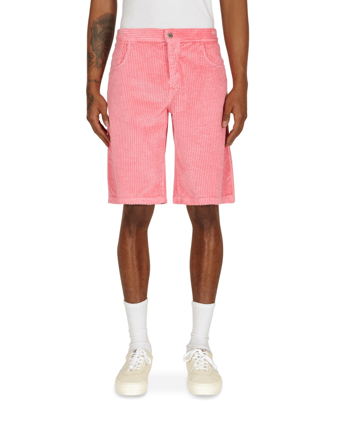 Photo: Erl Corduroy Shorts Pink
