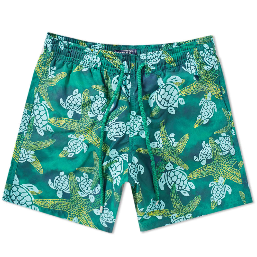 Photo: Vilebrequin Moorea Turtle Print Board Short