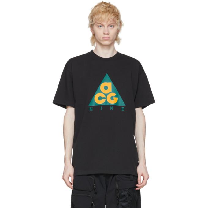 Photo: Nike ACG Black Graphic T-Shirt