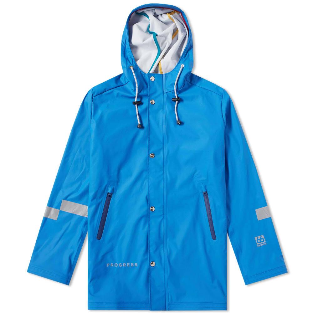 Photo: Soulland x 66 North Midraun Rain Jacket Blue