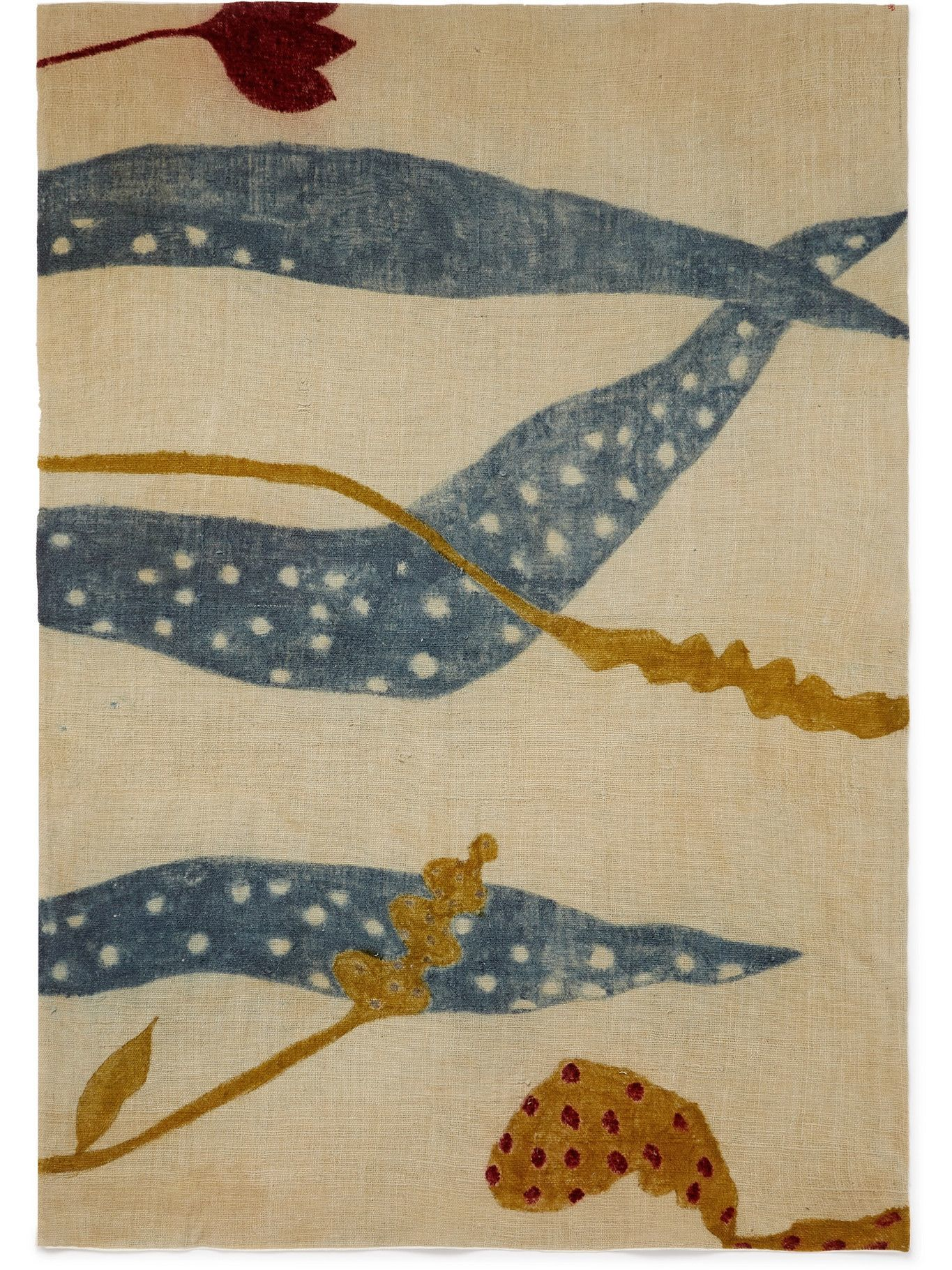 11.11/eleven eleven - Hand-Painted Organic Cotton Beach Towel