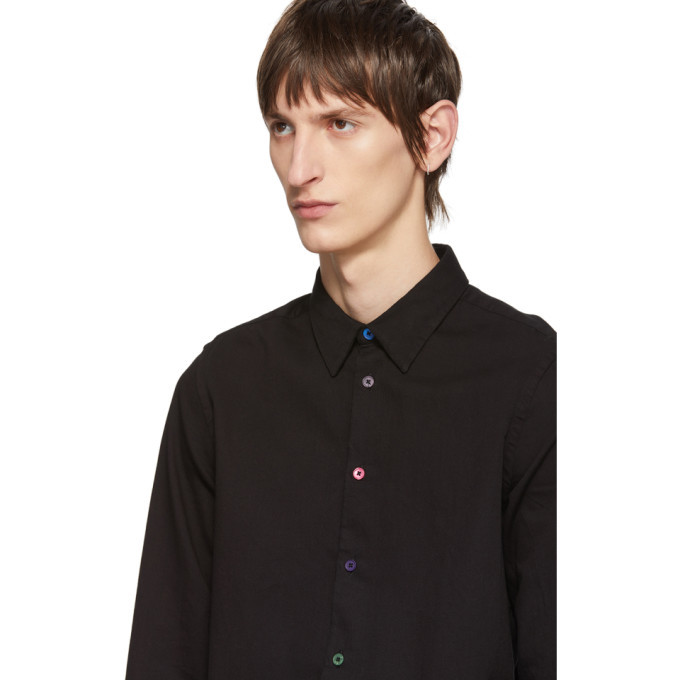 PS by Paul Smith Black Tailored Fit Shirt