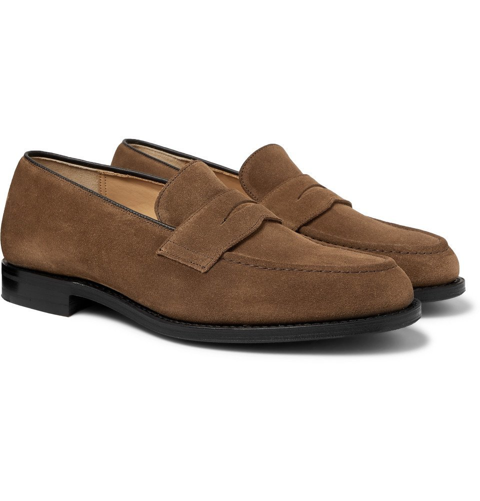 Photo: Church's - Netton Suede Loafers - Brown