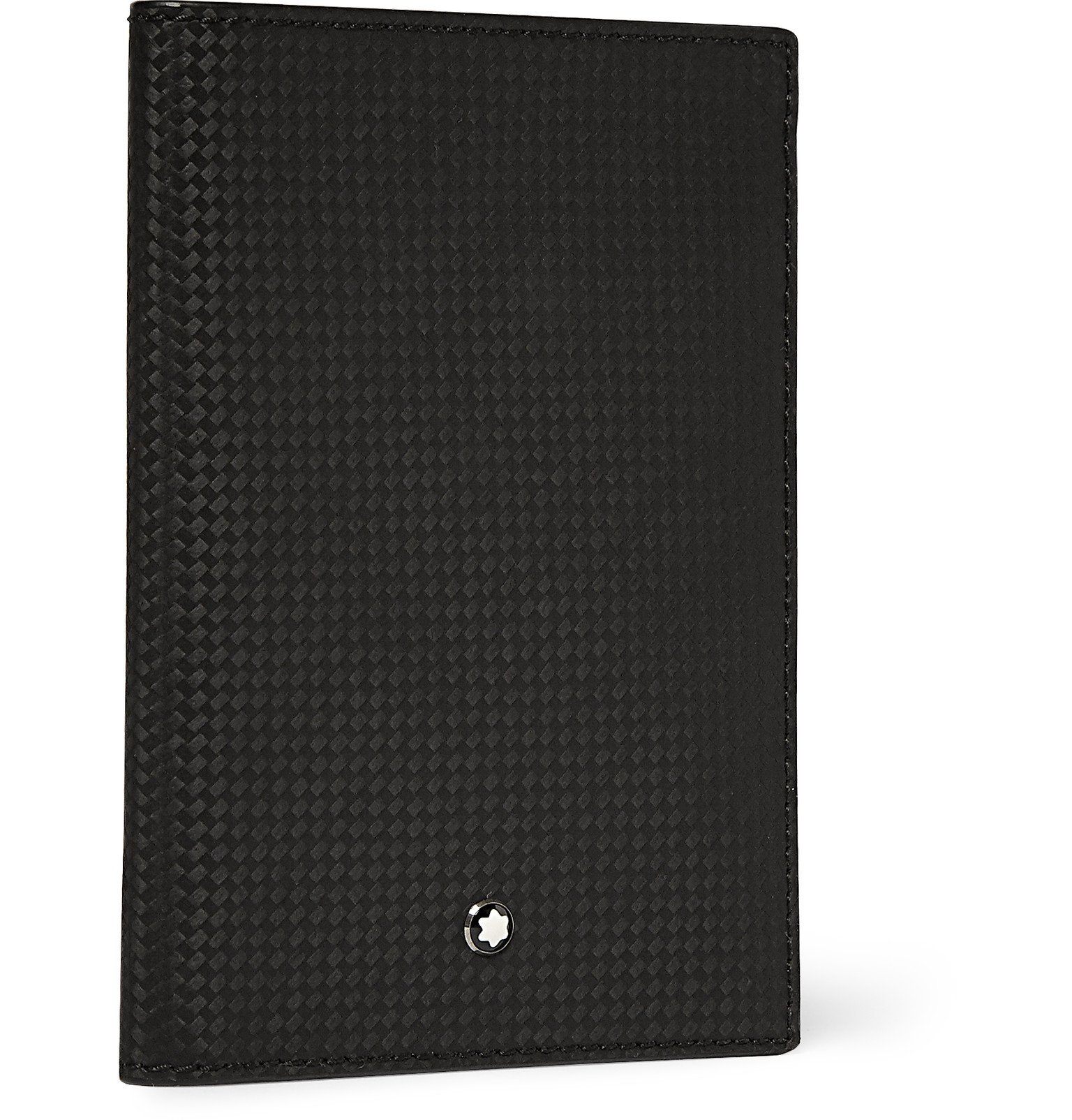 Photo: Montblanc - Extreme Leather Passport Cover - Black