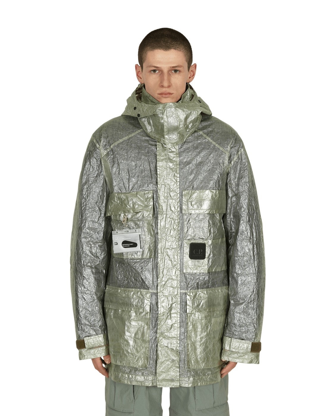 Photo: C.P. Company Dyneema Primaloft Metropolis Jacket Smoke