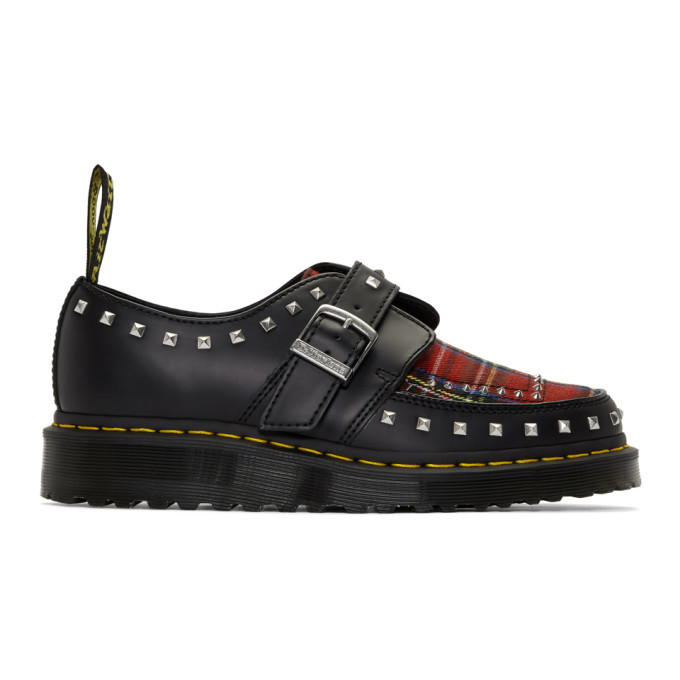 Photo: Dr. Martens Black and Multicolor Ramsey Monkstraps