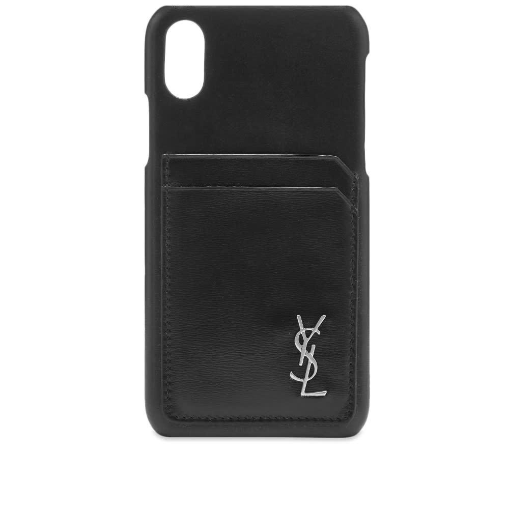 Photo: Saint Laurent Smooth Leather iPhone X Case