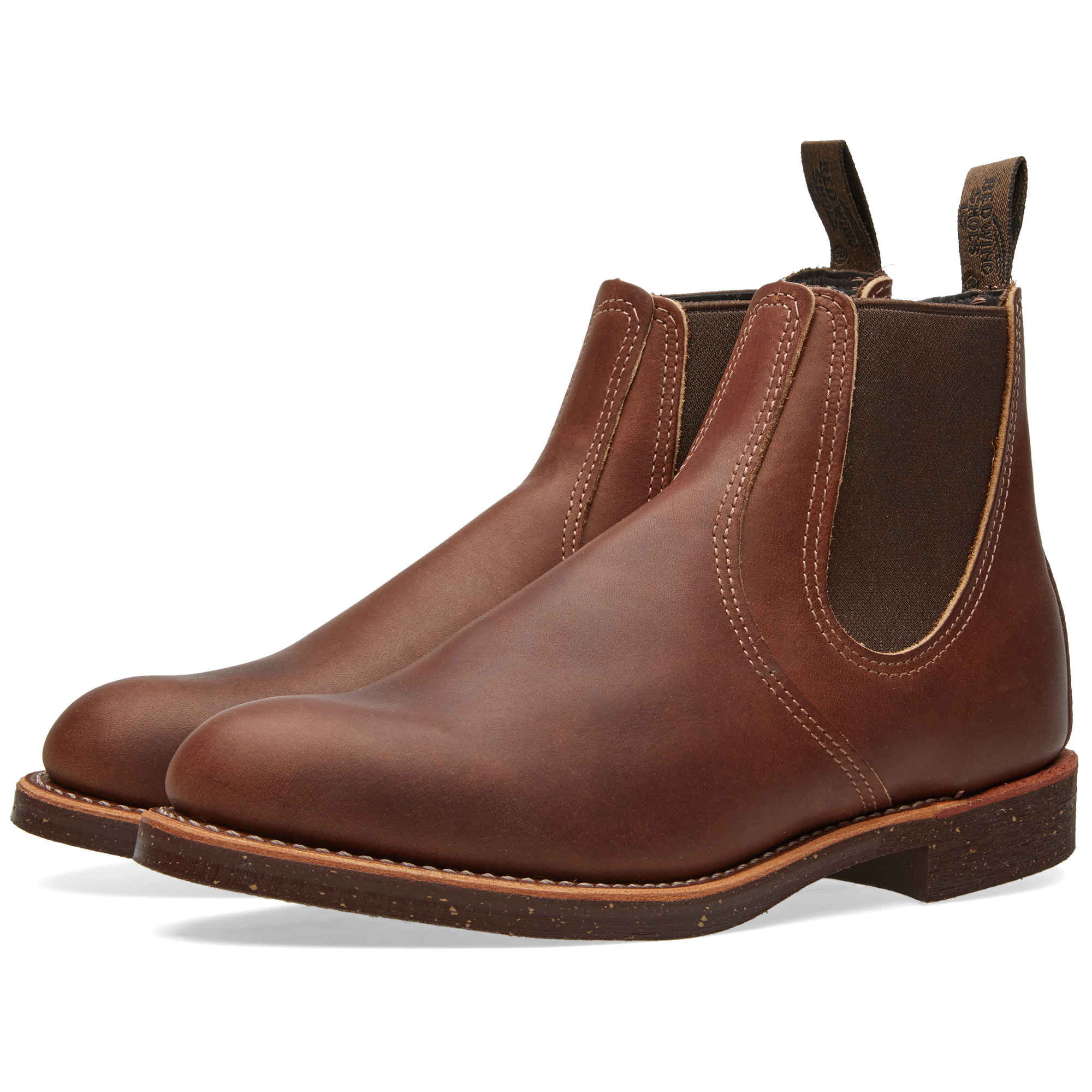 Photo: Red Wing 8201 Heritage Chelsea Rancher Boot Brown