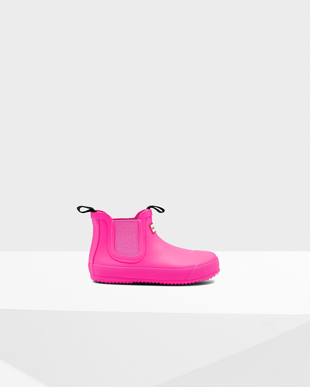 Photo: Original Little Kids' Flat Sole Chelsea Boots