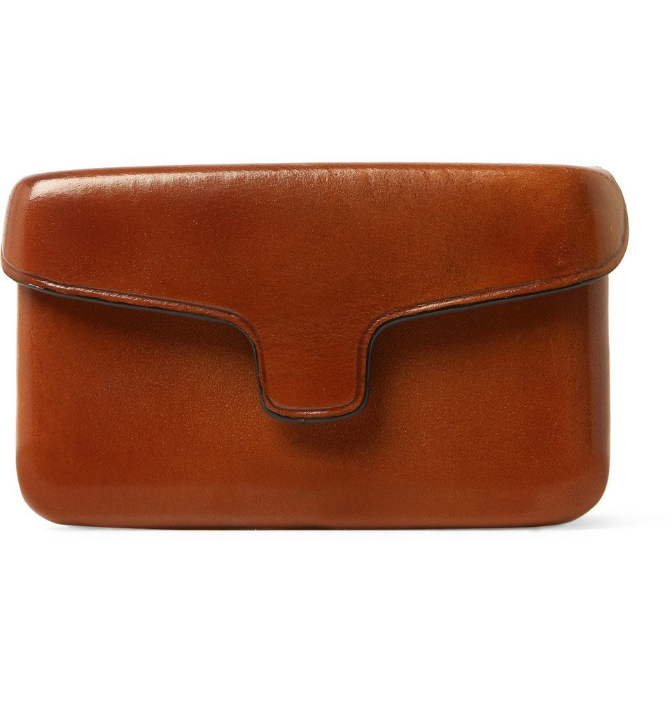 Photo: Il Bussetto - Polished-Leather Cardholder - Tan