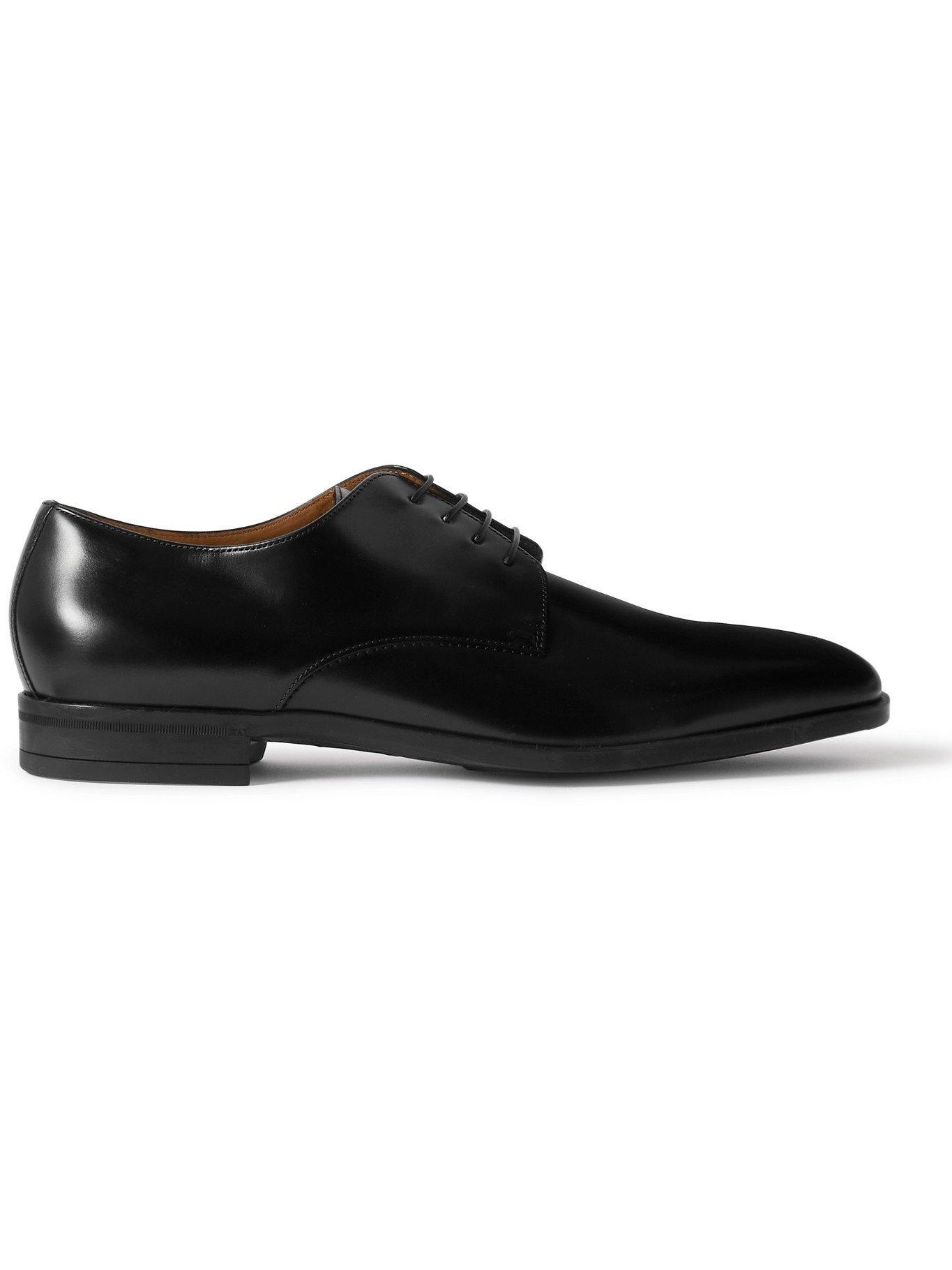HUGO BOSS - Kensington Leather Derby Shoes - Black