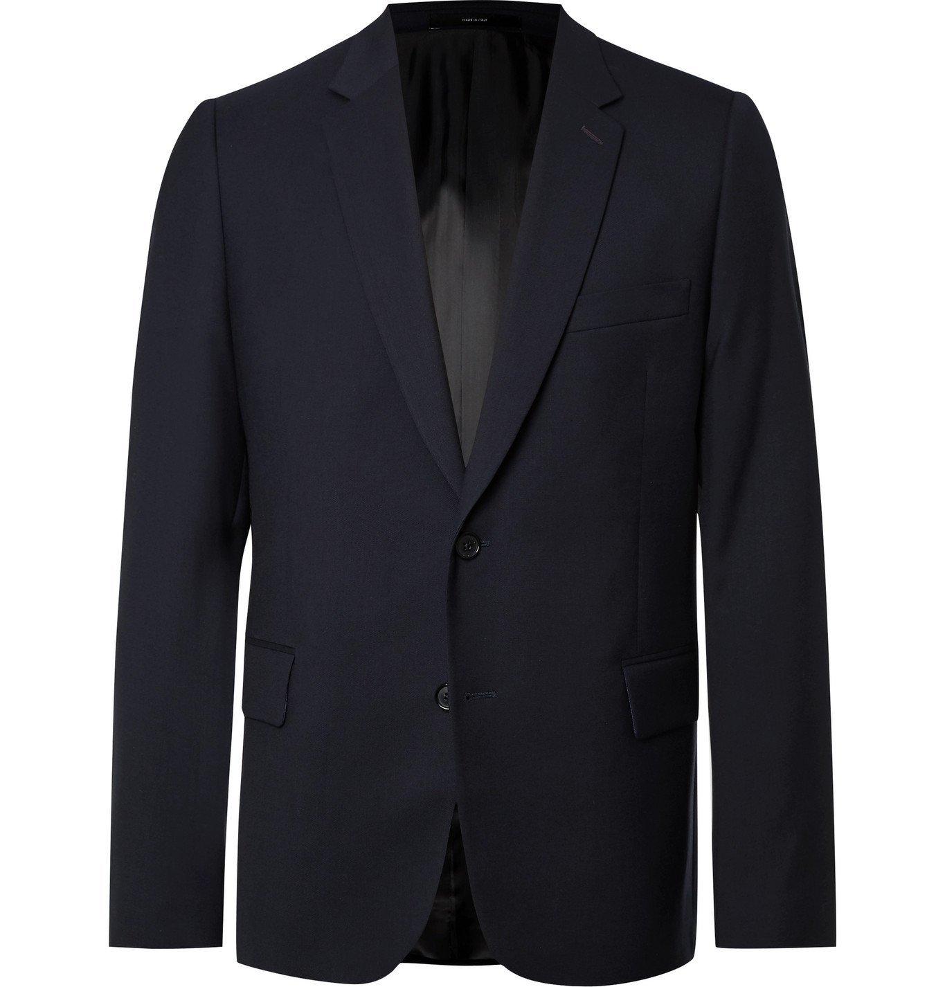Photo: Paul Smith - Soho Slim-Fit Wool-Twill Suit Jacket - Blue