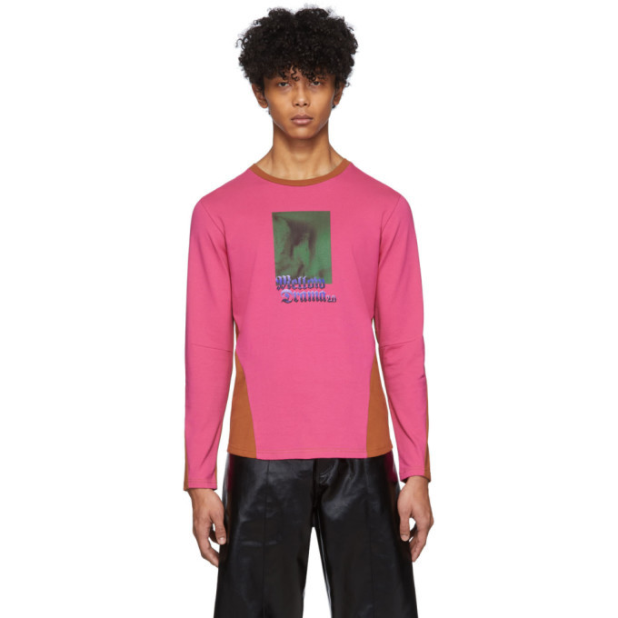 Photo: Keenkee Pink and Brown Mellow Drama 2.0 Long Sleeve T-Shirt