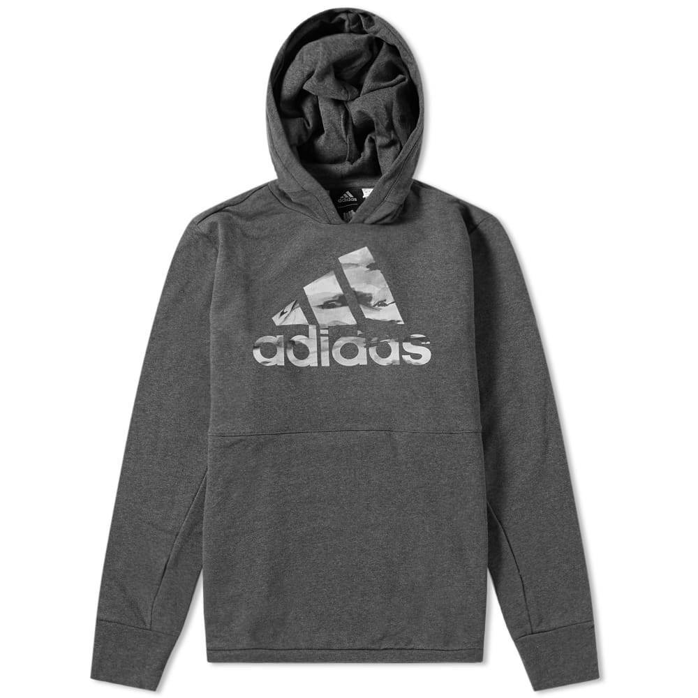 Adidas x Undefeated Tech Hoody Dark Grey Heather