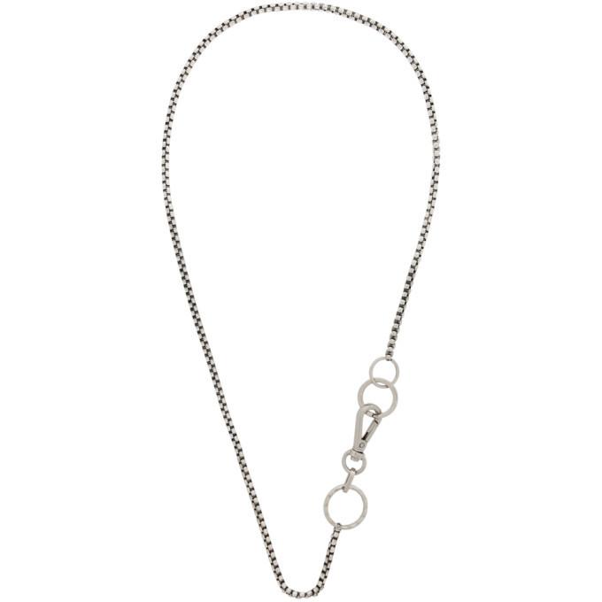 Photo: Martine Ali Silver Boxer Wrap Necklace