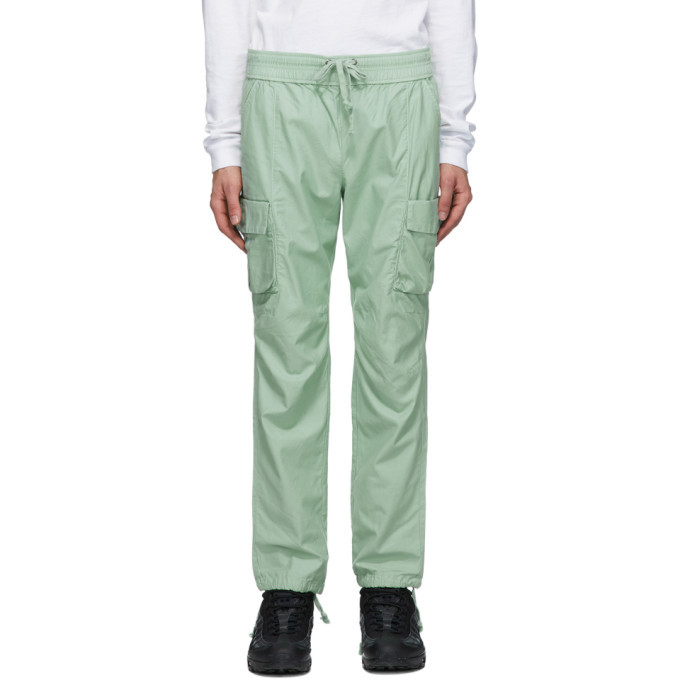 Photo: John Elliott Green Cotton Cargo Pants