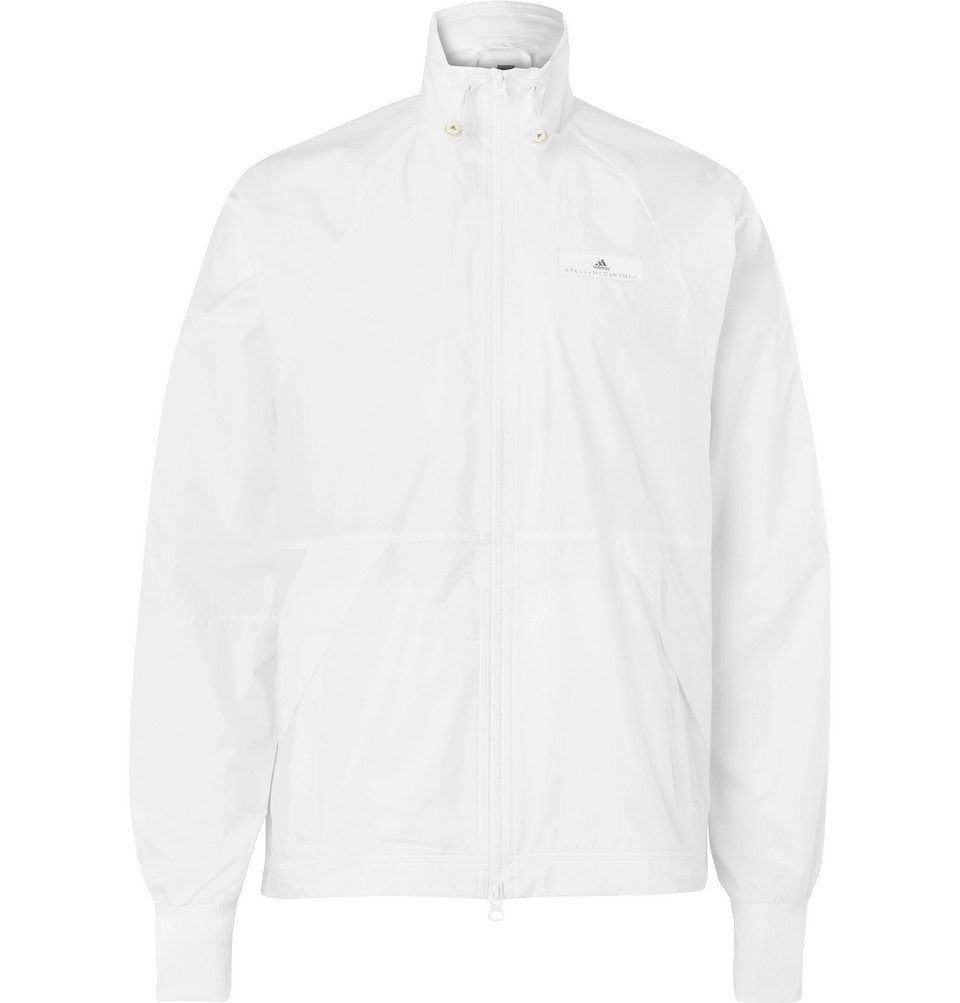 Photo: Adidas Sport - Stella McCartney Mesh-Panelled Shell Track Jacket - White