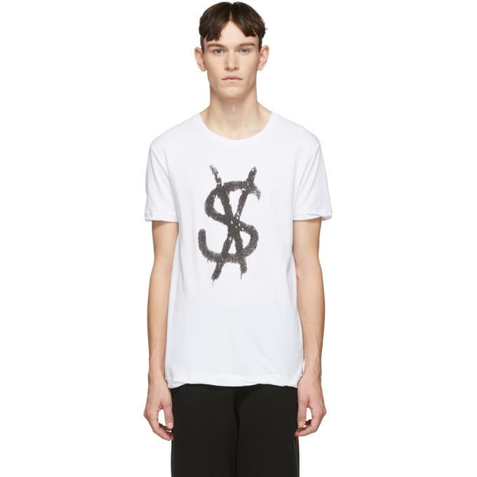 Ksubi White Spray Dollar T-Shirt