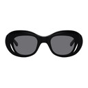 Martine Rose Navy Bug-Eye Hepburn Sunglasses