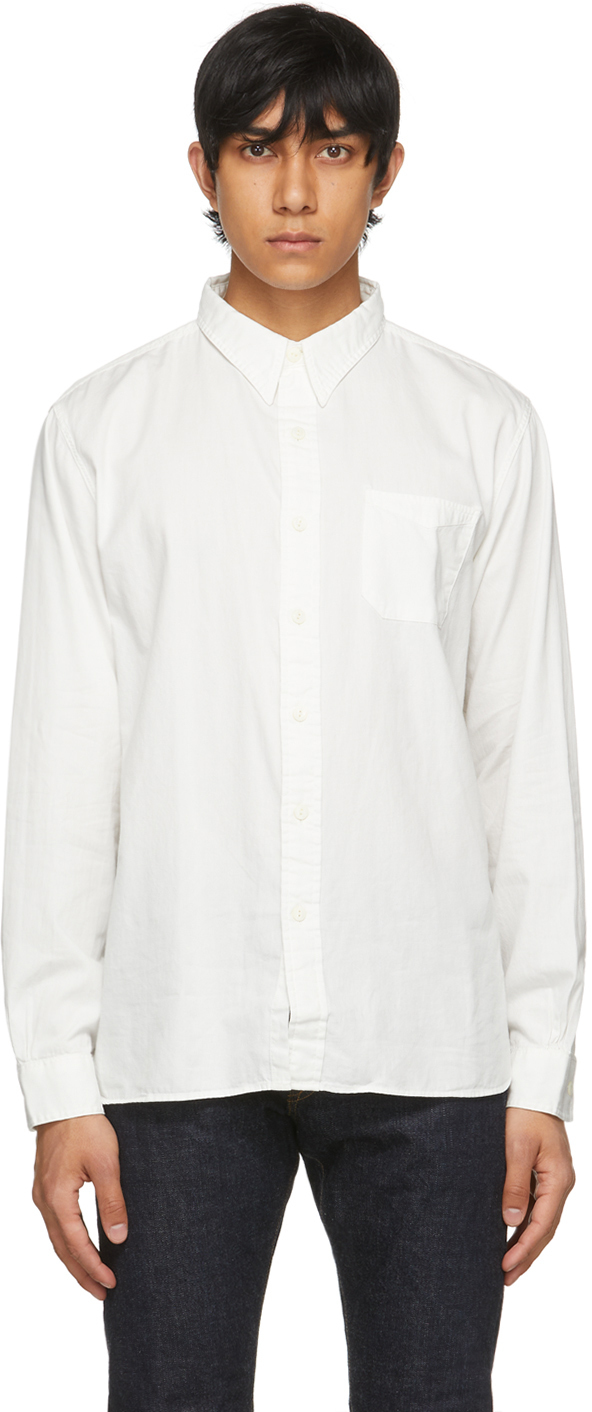RRL White Rail Work Shirt