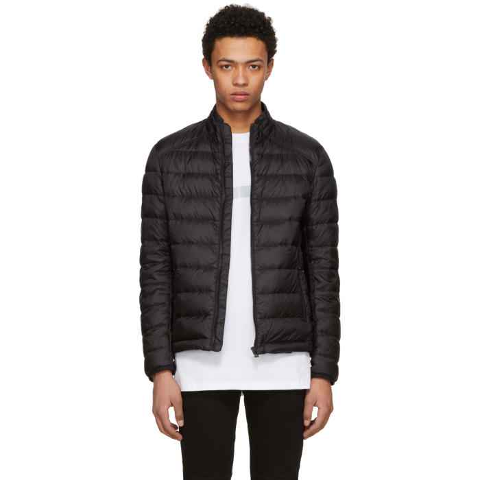 Belstaff Black Down Ryegate Jacket
