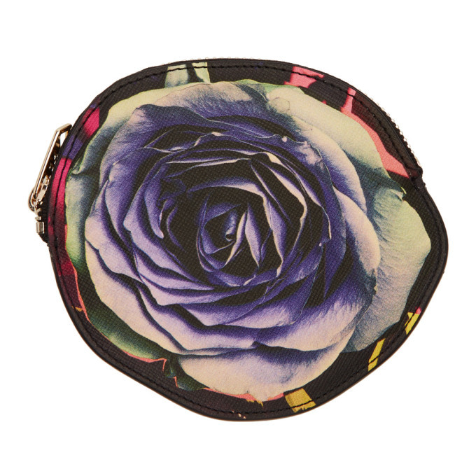 Photo: Paul Smith Multicolor Collage Rose Pouch