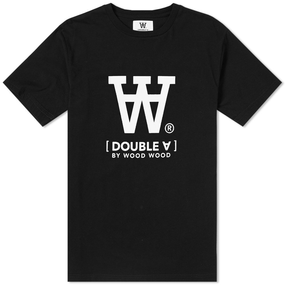 Photo: Wood Wood Ace Logo Tee Black