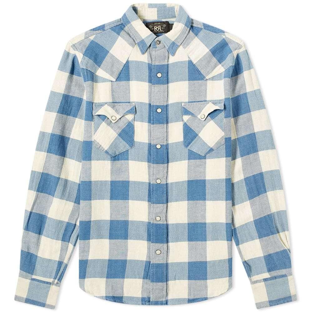 Photo: RRL Buffalo Western Check Shirt