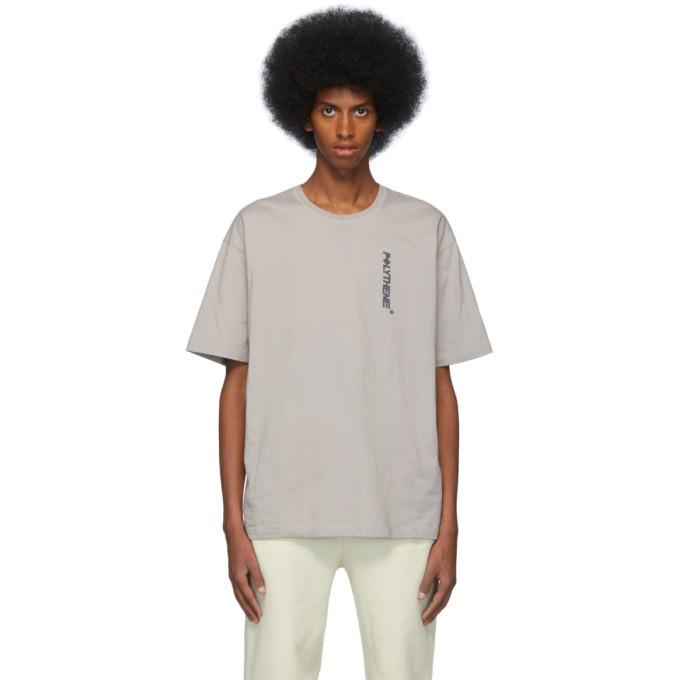 Photo: Polythene* Optics Grey Logo T-Shirt