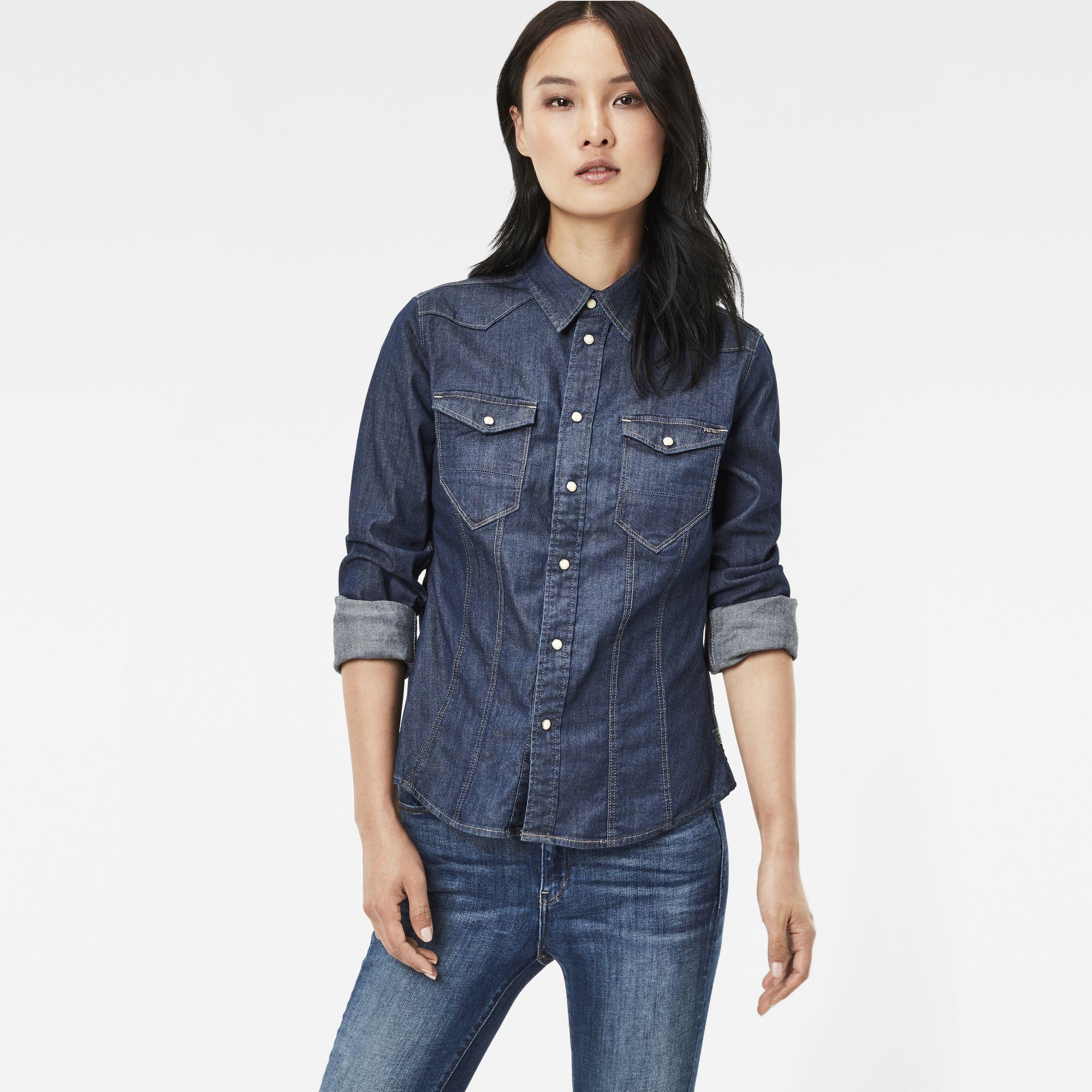 da4ee930c1 G Star Ladies Denim Shirt - BCD Tofu House
