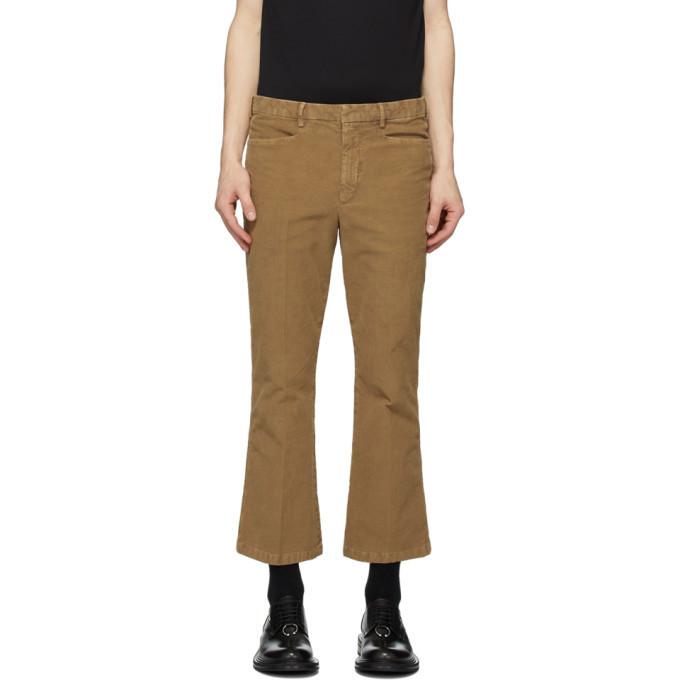 Photo: Neil Barrett Tan Flared Trousers