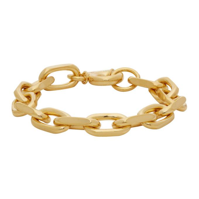 Photo: Dries Van Noten Gold Chain Bracelet