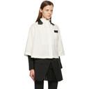 Sacai Off-White Suiting Shirt