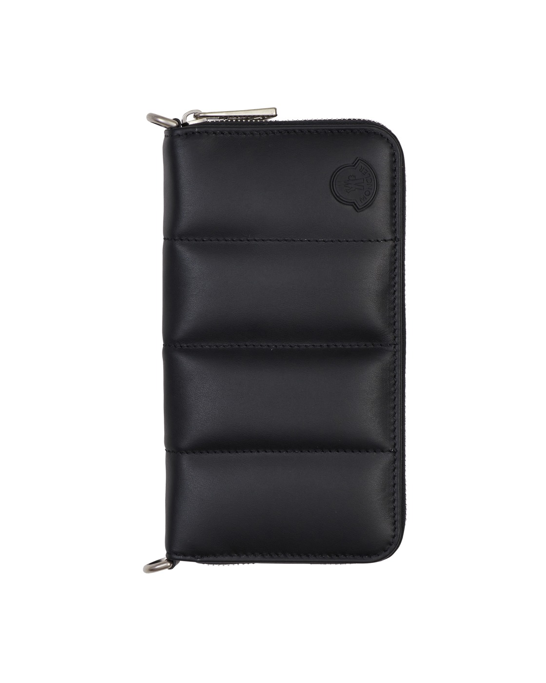 Photo: Moncler Quilted Wallet Black