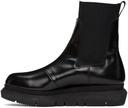 Sacai Black Side Gore Chelsea Boots