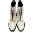 3.1 Phillip Lim Grey Hayett Pearl Boots