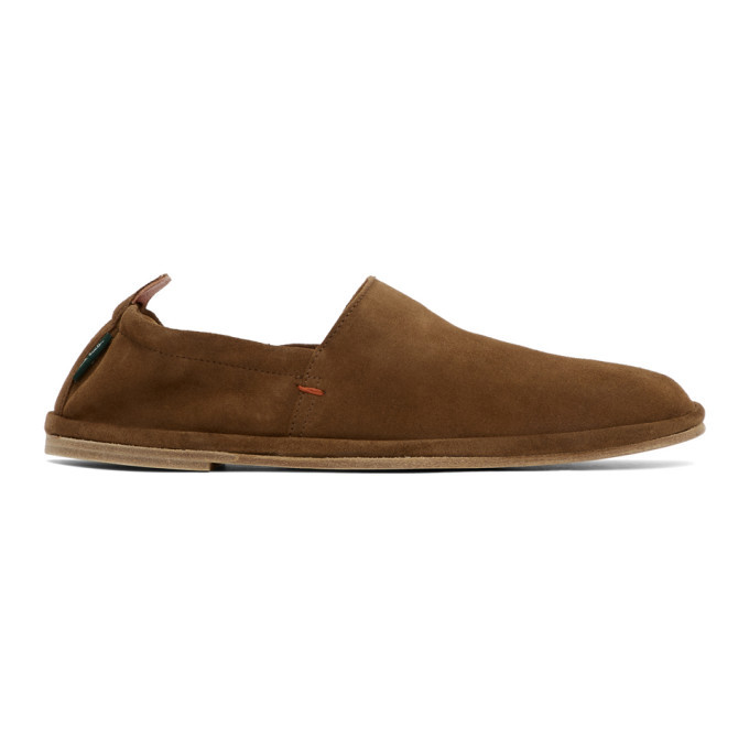 Photo: PS by Paul Smith Brown Cornelius Loafers
