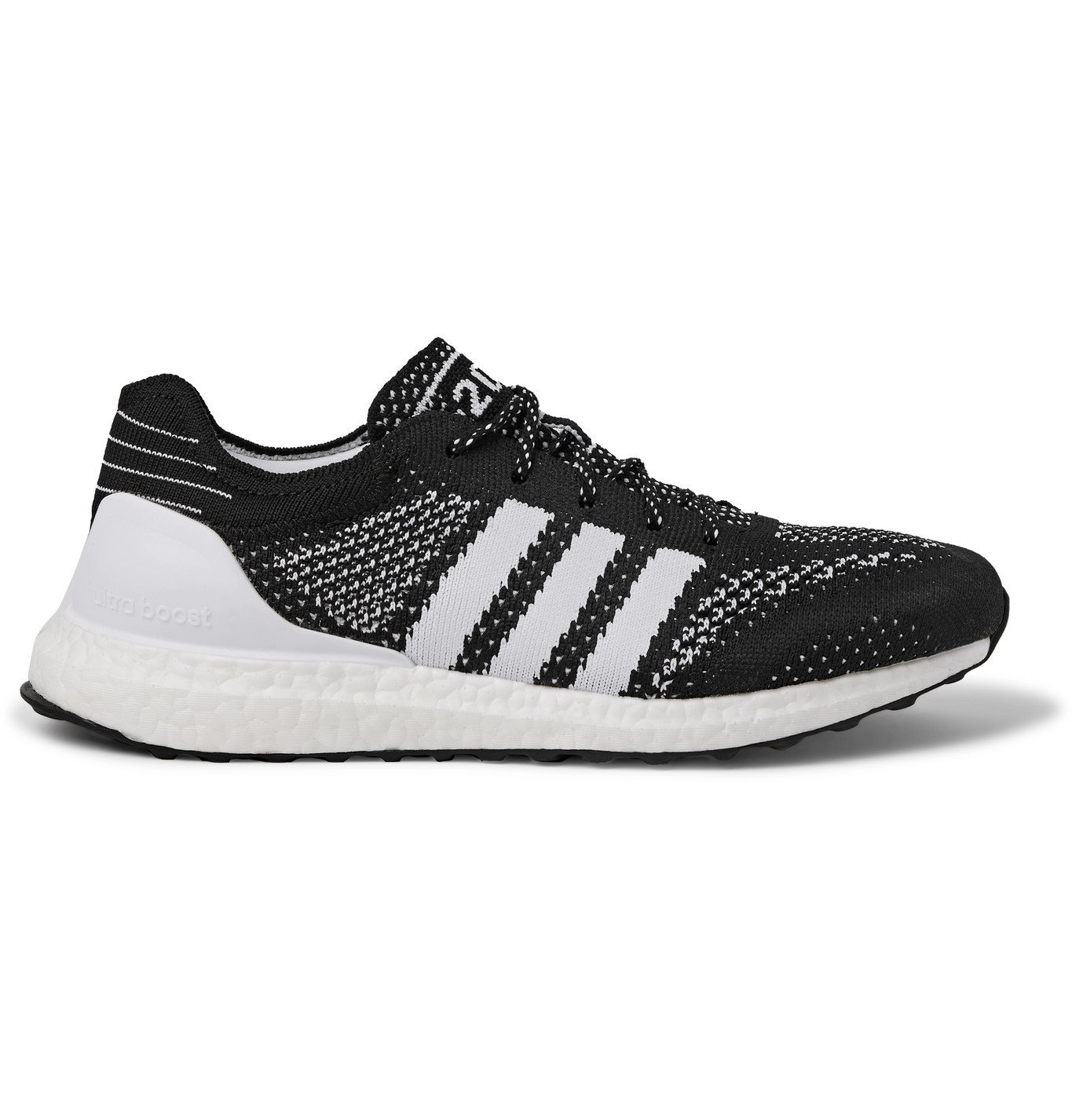Photo: Adidas Sport - Parley UltraBOOST DNA Prime Rubber-Trimmed Primeknit Running Sneakers - Black