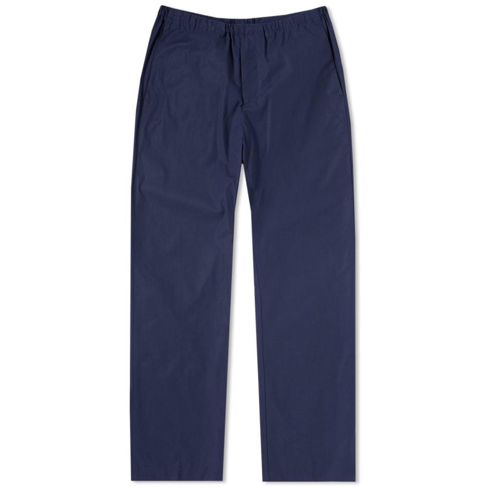 Acne Studios Ari Cotton Drawstring Trouser Blue
