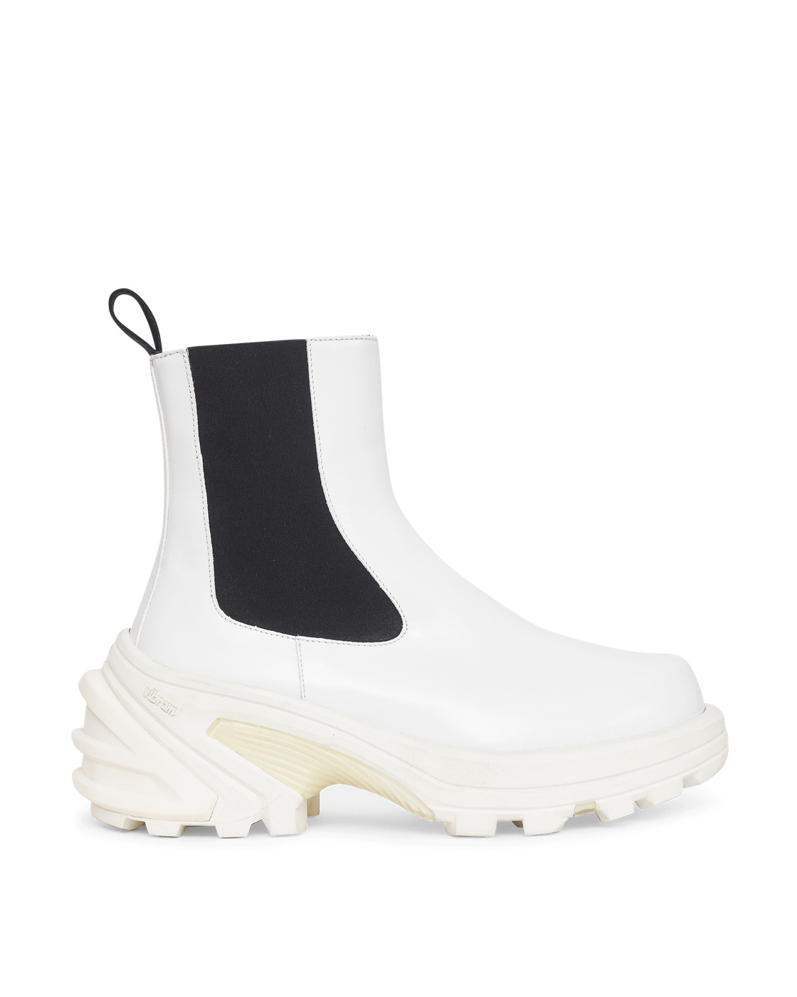 Photo: 1017 Alyx 9sm Removable Sole Chelsea Boots White