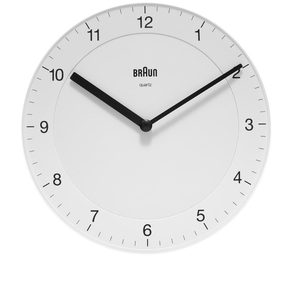 Photo: Braun BC06 Wall Clock