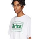 Aries White Logo Temple T-Shirt