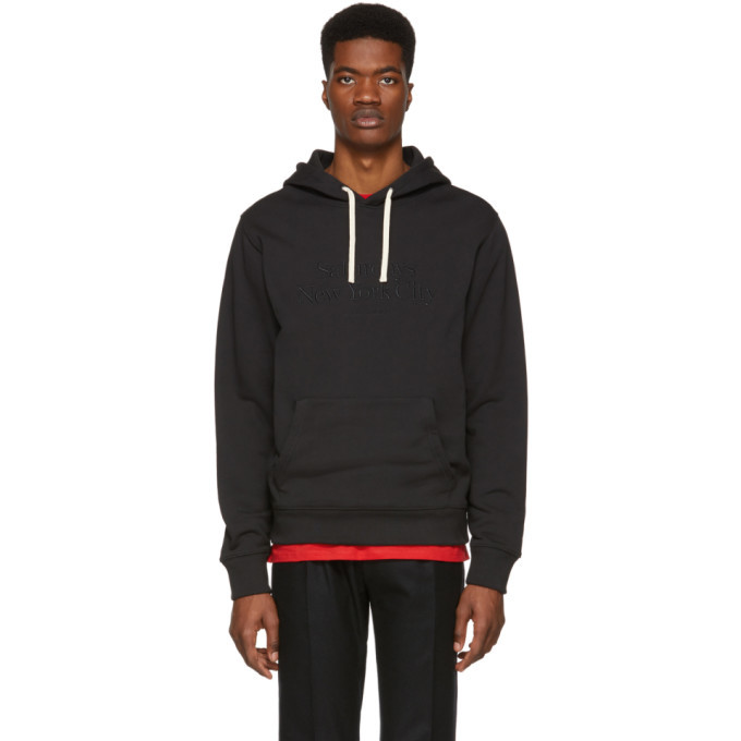 Photo: Saturdays NYC Black Miller Standard Ditch Hoodie