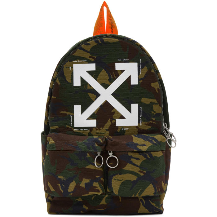 Photo: Off-White Multicolour Camouflage Backpack
