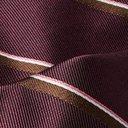 Dunhill - 7cm Striped Mulberry Silk Tie - Men - Burgundy