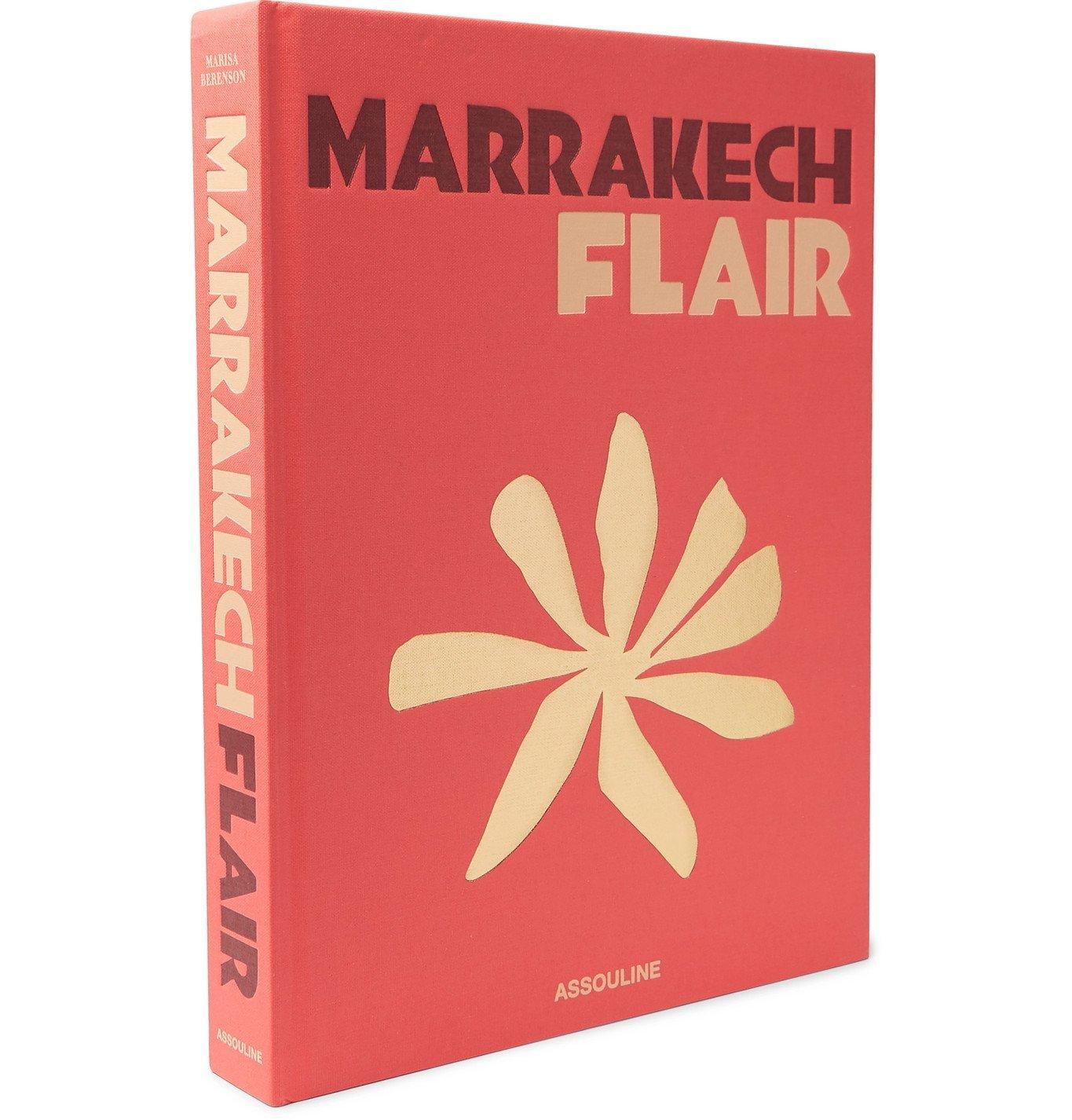 Photo: Assouline - Marrakech Flair Hardcover Book - Red