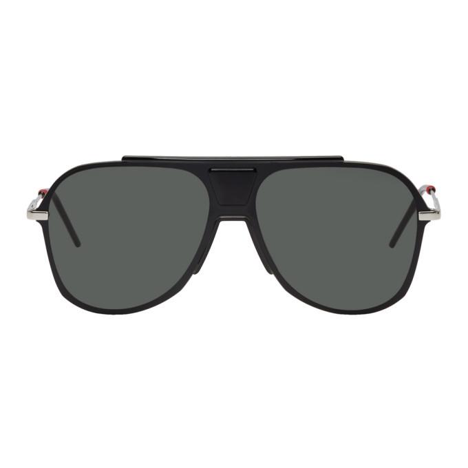 Photo: Dior Homme Black 0224S Sunglasses