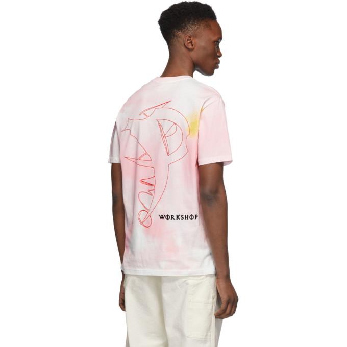 032c Pink Cosmic Workshop T-Shirt