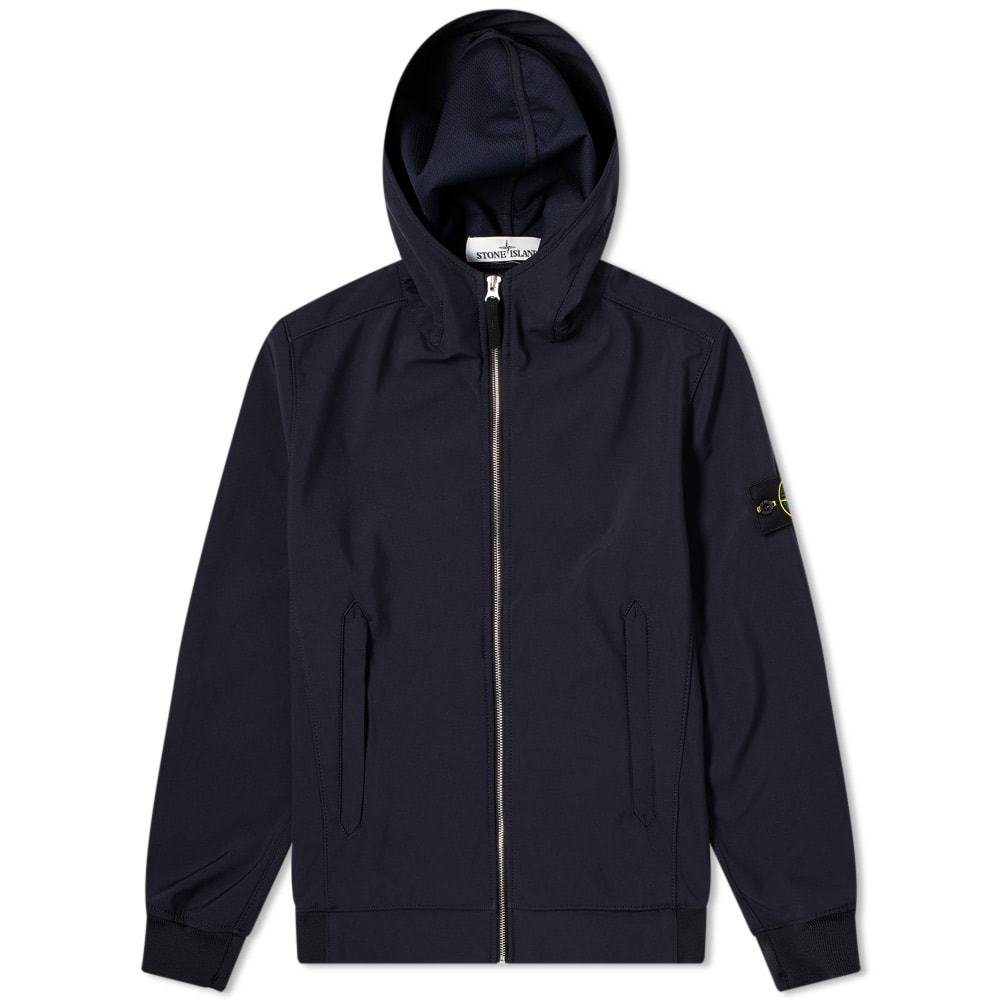 Photo: Stone Island Lightweight Soft Shell-R Hooded Jacket
