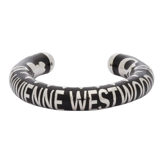 Photo: Vivienne Westwood Black and Silver Lazarus Ring